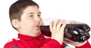 Niño gordo por coca